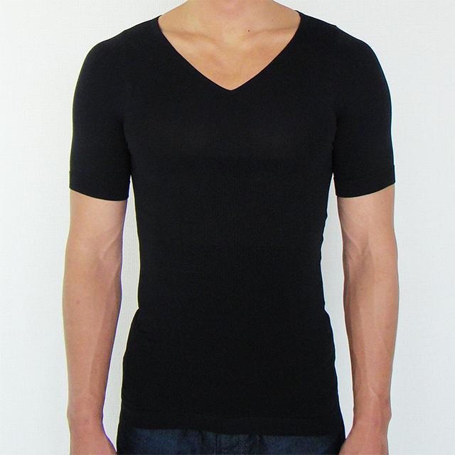 金剛筋シャツ黒の正面画像