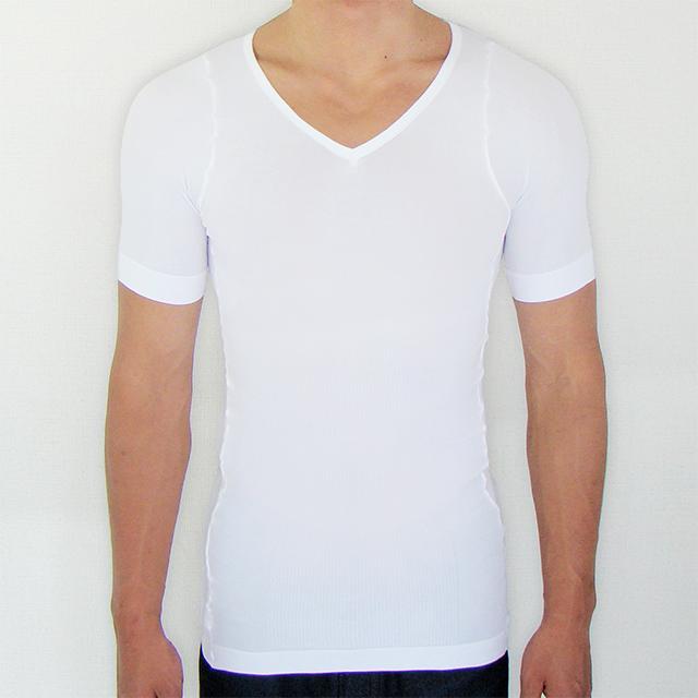 金剛筋シャツ白の正面画像