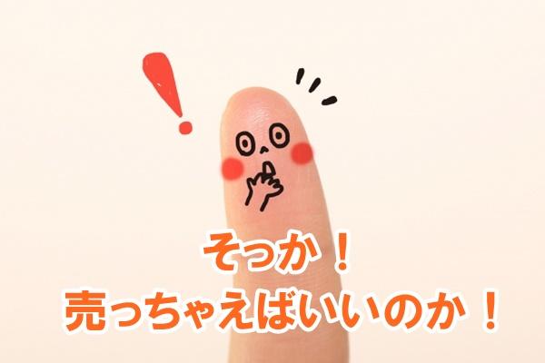 ひらめいた指